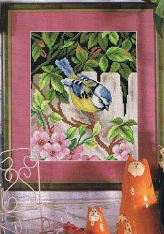 Gallery.ru / Фото #1 - синичка на заборе - irisha-ira