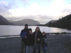 Buttermere - Visited many times over the years - walked, day trips, camped, stayed at Bridge Hotel - this was Jan 2008 a winter walk around the shore line. Winter Walk, Day Trips, Four Square, Over The Years, Bridge, Camping, Spaces, Times, Mountains