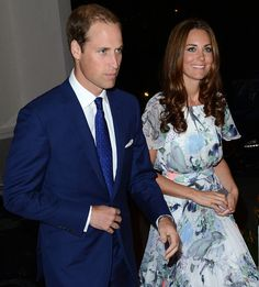 Kate looks adorable; not something. Would wer because of the pattern but she pulls it off!