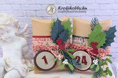 Az idén ragyogó meleg az Ősz, de azért készülnünk kell a karácsonyra... Adventi naptárakat készíthetünk cuki kis párnadobozokból is. Tartsatok velem!      Ma számomra egy nagyon kedves v&aa... Advent, Gift Wrapping, Scrapbook, Gifts, Gift Wrapping Paper, Presents, Wrapping Gifts, Gift Packaging, Gifs