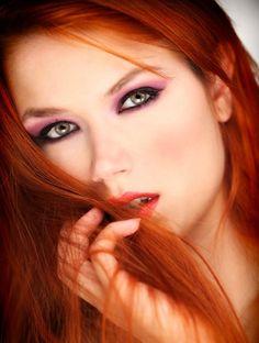 ♡Redhead beauty♡