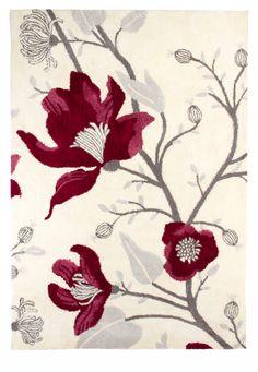 Vallila Interior AW14, Clea rug red 160x230cm