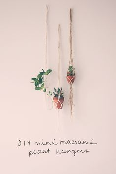 2 Mini String DIYs | Free People Blog #freepeople