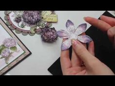 PART 4 TUTORIAL HEARTFELT CREATIONS BUTTERFLY MEDLEY MINI ALBUM - DESIGNS BY SHELLIE - YouTube