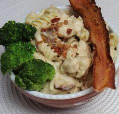 Cheesy Bacon Crockpot Pasta7