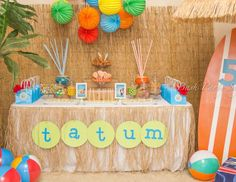 "Teen Beach Movie / Birthday ""Tatum's Teen Beach Movie Bash"" 