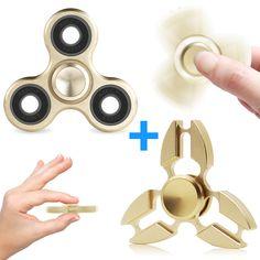 Lot of Fidget Spinners Tri Hand Spinner Spinning Toy Finger Fidget X2 X3 X4 X10+