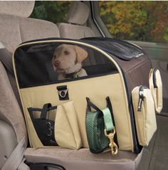 Pet Gear Carrier/Car Booster Seat. To keep Ember safe and calm.