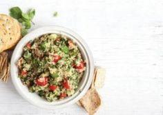 Toasted #Quinoa #Tabbouleh | Jewish Vegetarians of North America