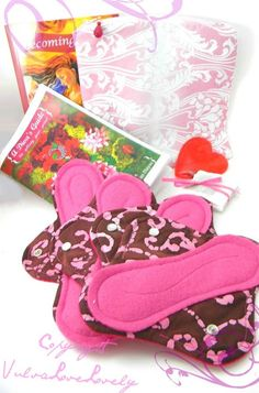 Cloth Menstrual Pad Set: First Period Kit