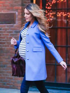 Blake Lively Somehow Makes Pregnancy Look Easy