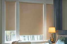 Try coupling roller shades with drapes or top treatments or even use laminated custom fabrics or wallpaper for a more complex design. Description from windowsbyunique.com. I searched for this on bing.com/images
