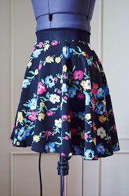 Mi primera máquina de coser: Cose conmigo: falda de capa