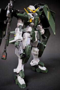 "Custom Build: 1/100 Gundam Dynames ""Detailed"" - Gundam Kits Collection News and Reviews Gundam 00, Geek Games, Gunpla Custom, Mechanical Design, Character Sheet, Gundam Model, Mobile Suit, Transformers, Model Kits"