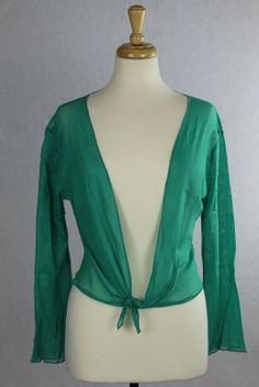 Emerald Mesh cardigan