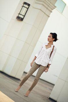 Clarity :: Leopard pants
