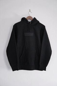Box logo supreme hoodie