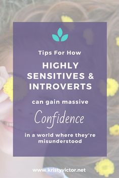 How to gain fearless confidence as a highly sensitive or introverted person is a world where they're misunderstood. Learn to set healthy boundaries, handle anxiety, overwhelm, and overthinking, set up self-care practices, get a better understanding of your personality type, allow forgiveness and boost your self worth.