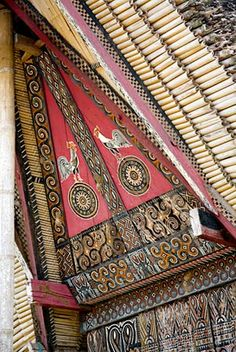 Sulawesi, Siguntu - pictures of a little village in Tanah Toraja - 02 Minangkabau, Asian Architecture, Dutch East Indies, Javanese, Archipelago, Traditional Art, Southeast Asia, Asian Style, Buildings