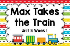 This is an ActivBoard activity to accompany Scott Foresman's Reading Street Unit 5, Week 1: Max Takes the Train. This is a five day lesson with multiple activities for each day that include letter recognition, rhyming words, blending sounds and words, high-frequency words, grammar activities, journal activities, games, comprehension activities, and more.