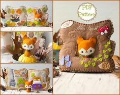 This PDF sewing pattern is to make a felt book with a tiny fol . This pattern is hand sewn.  Finished size: 6x 6  THIS IS NOT A FINISHED BOOK. Pattern does not include Doll, supplies or fabric.  Language: English  THIS PDF e-Pattern includes: . Step by step photo tutorial. . A material and