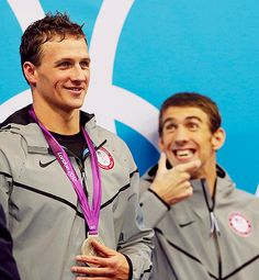 lol forget lochte. phelps is funny