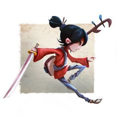 Kubo and the Two Strings - Fan Art by riantrost.deviantart.com on @DeviantArt