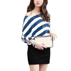Allegra K Women Scoop Neck Dolman Sleeve Stripes Summer Casual Dress Allegra K,http://www.amazon.com/dp/B00DV0T1PQ/ref=cm_sw_r_pi_dp_X7pIsb1FF8XCX1Y0