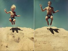 Childhood Photos Recreated