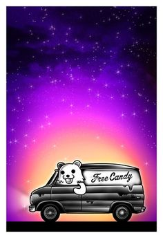 """Prowlin'"" by Benjie Pedobear, They See Me Rollin, Internet Friends, Free Candy, Bear Wallpaper, Geek Chic, Funny Comics, Artsy Fartsy, Pop Art"