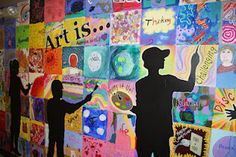 Art is...  this would be awesome for HS or MS!