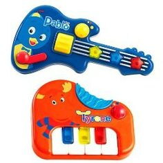 "Fisher-Price ""The Backyardigans"" Backyard Boogie musical instruments"