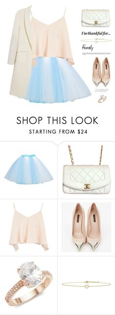 """""""I'm Thankful For..."""" by lushxoxo ❤ liked on Polyvore featuring Chanel, Topshop, Louis Vuitton, Saks Fifth Avenue, Lee Renee and Alexander Wang"""