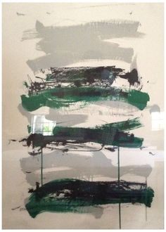 """Joan Mitchell (American, 1925-1992), """"Champs (Black, Gray and Green)"""", 1991-92, lithograph, signed, ed. 125"""