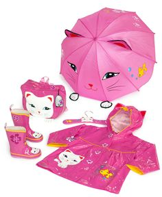 i don't even like cats but this shit is cute!    Kidorable Kids Umbrella, Lucky Cat Umbrella