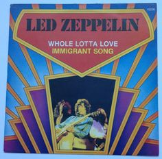 Led Zeppelin - Whole Lotta Love/Immigrant Song single #LedZeppelin #LedZep #Zep
