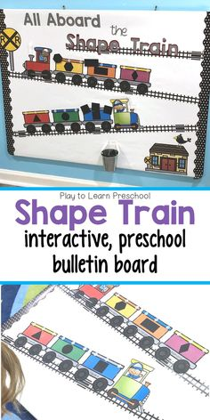 Young students will adore this transportation-themed interactive shape bulletin board. It's a fun way to have them practice identifying the basic shapes. Kindergarten Lesson Plans, Preschool Lessons, Preschool Learning, Learning Activities, Sorting Activities, Teaching, Preschool Bulletin Boards, Preschool Themes, Preschool Classroom