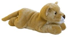 "12"" Aurora Plush Lion Cub Lioness Cat ""Ella"" Flopsie Stuffed Animal Toy $17.99"