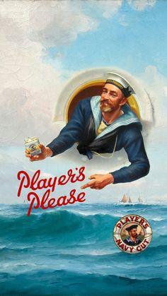 Player's Please cigarettes