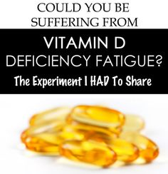 I wished someone had asked me 6 months ago if I could be suffering from Vitamin D Deficiency fatigue. It would have saved so much exhaustion! Read more..