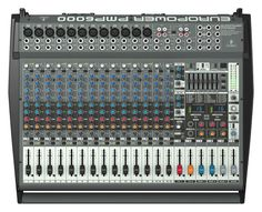 www.audioshop.co - Behringer PMP6000 20-Channel Powered Mixer... - Best Price $749.00 International Shipping