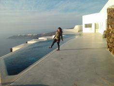 Poolofgracehotel#calsera#santorini