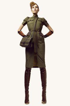 FASHION EDITORIAL:MILITAR on Fashion Served