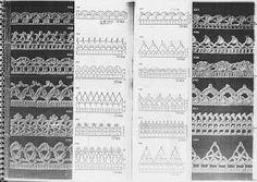 TRICO y CROCHET-madona-mía: Puntillas con gráfico