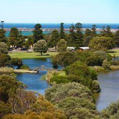 Warrnambool Victoria Australia- Lake Pertobe,