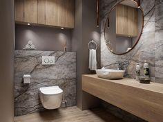 Small Bathroom Layout, Simple Bathroom Designs, Modern Bathroom Design, Bathroom Interior Design, Interior Design Classes, Home Room Design, Living Room Designs, House Design, Big Baths