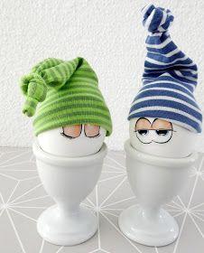 mit Strich und Faden: Eiermützchen |Eierwärmer
