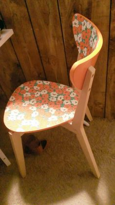 Ikea Hack... Floral Nordmyra Chair Makeover