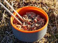 Backpacking Recipes and Hiking Food Ideas soba and vegetable stir fry, dehydrated backpacking meals, recipes for camping Dehydrated Backpacking Meals, Backpacking Food, Dehydrated Food, Camping Meals, Camping Hacks, Camping Essentials, Couples Camping, Camping Dishes, Camping Cooking
