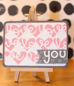 maikreations: love love love love love you A cute card for Valentine's / süße Valtentinstagskarte